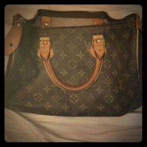 louis vuitton speedy vintage 25 city handbag